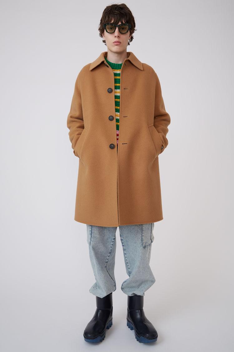 아크네 스튜디오 Acne Studios Double face coat camel brown,Camel brown