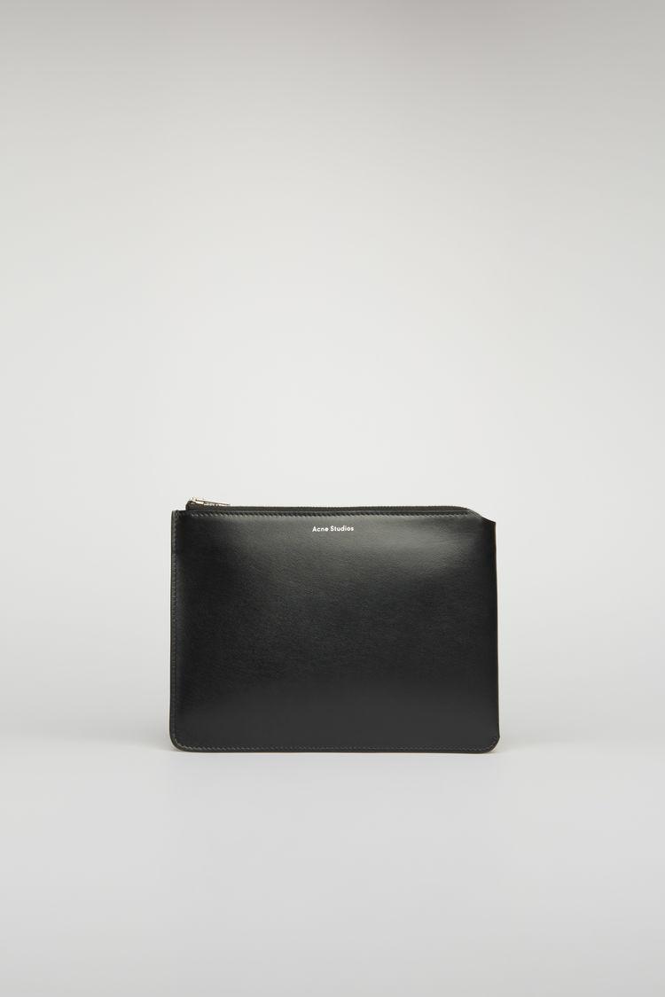 아크네 스튜디오 서류 파우치 Acne Studios Compact document holder black