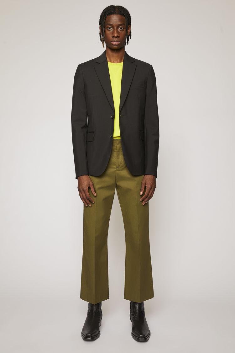 아크네 스튜디오 Acne Studios Tailored suit jacket black
