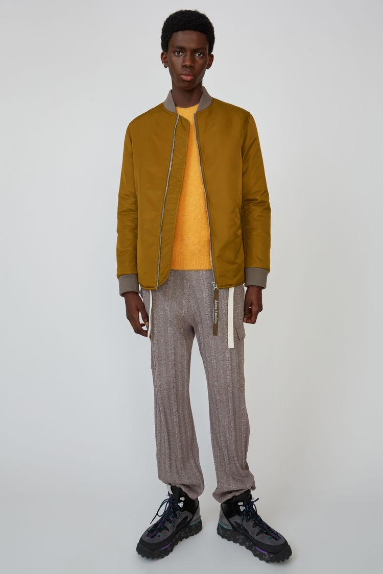 아크네 스튜디오 Acne Studios Nylon jacket oil yellow