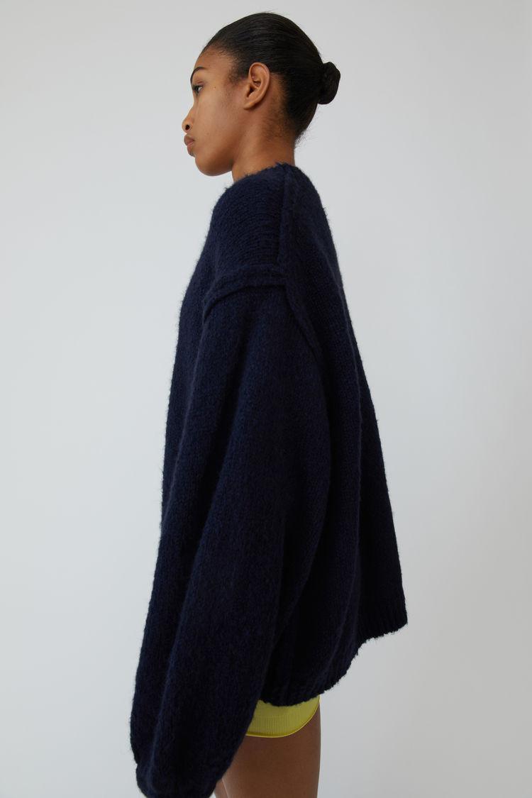 Acne Studios - Oversized sweater Navy blue - 4
