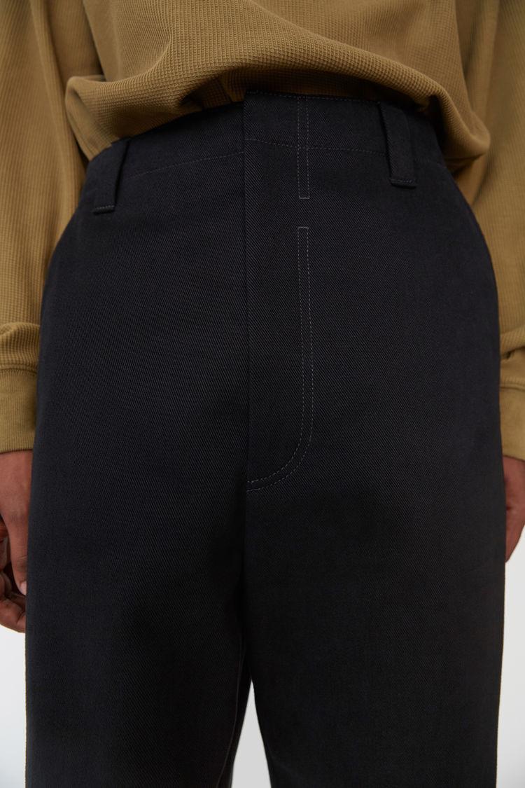 Acne Studios - Cotton trousers Black - 2