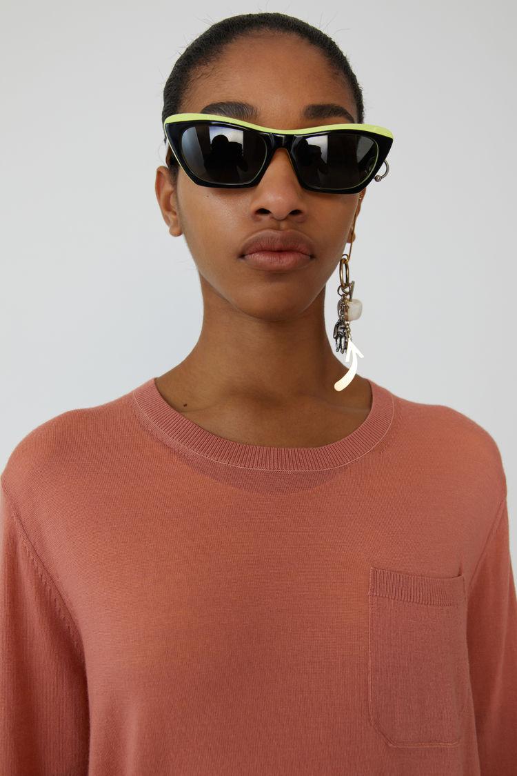 Acne Studios - Lightweight sweater Dusty pink - 2