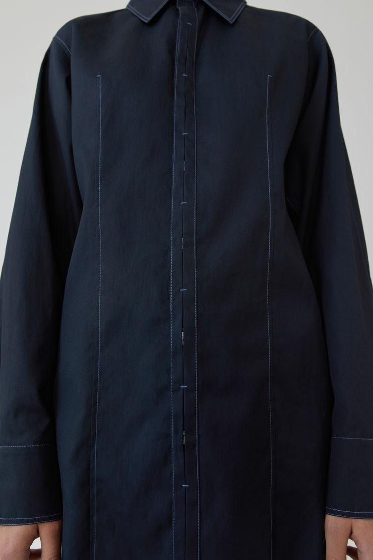 Acne Studios - Long-sleeved shirt Navy blue - 5