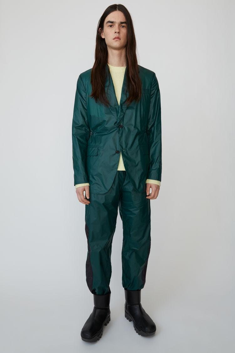 아크네 스튜디오 Acne Studios Ripstop suit jacket forest green