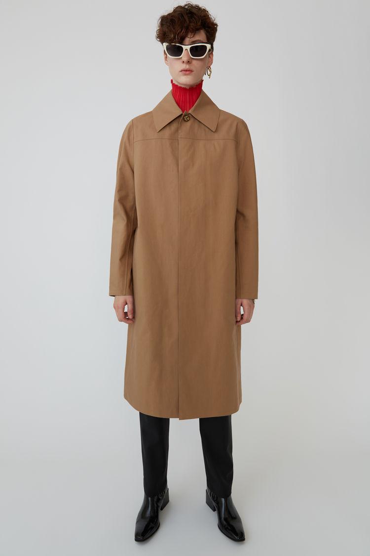 아크네 스튜디오 미니멀리스트 코트 Acne Studios Minimalist coat camel brown