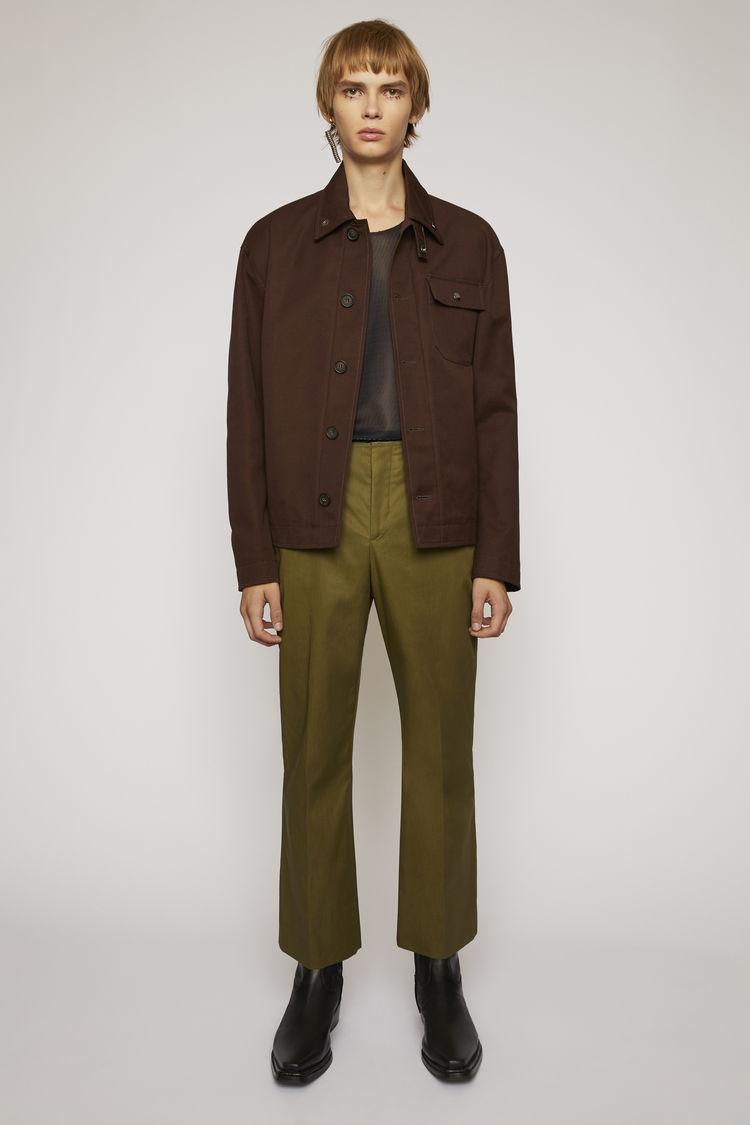 아크네 스튜디오 Acne Studios Deck jacket coffee brown