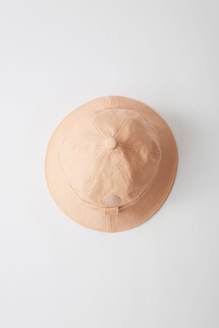 아크네 스튜디오 Acne Studios Cotton bucket hat dusty pink