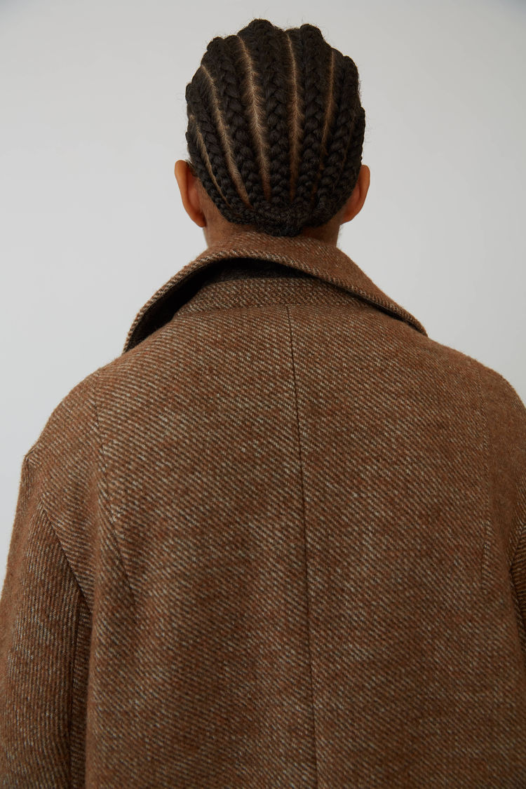 Acne Studios - Cocoon jacket Camel brown - 8
