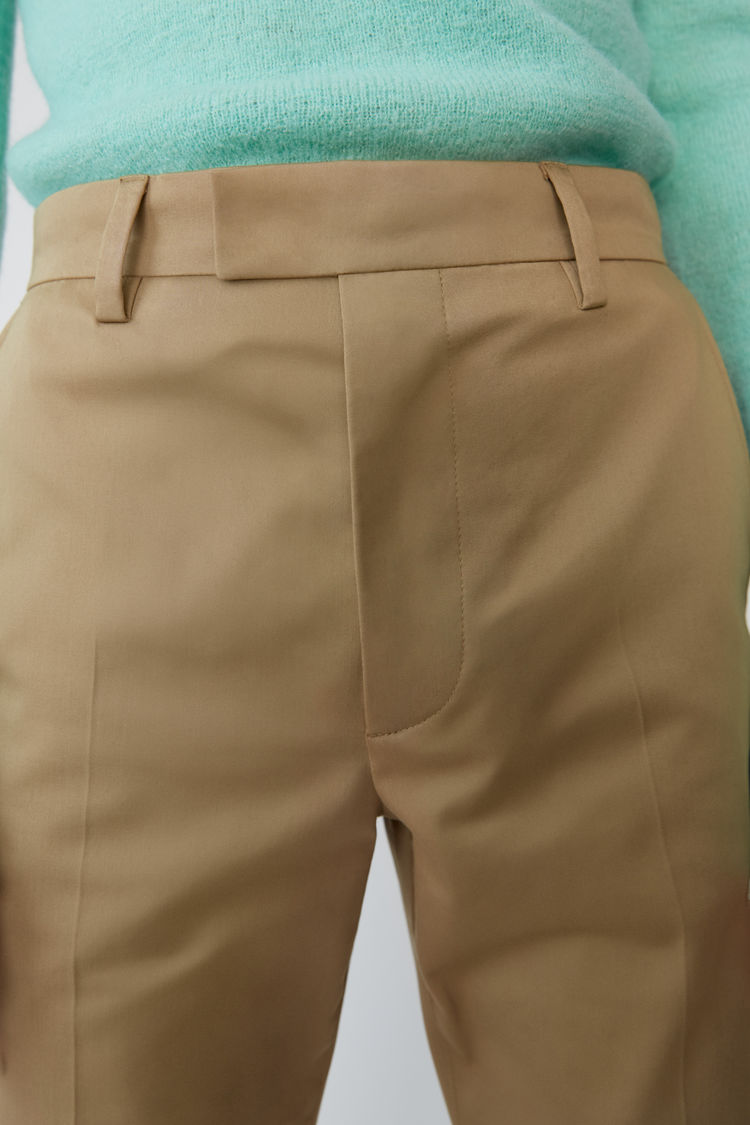 Acne Studios - Clean trousers Sand beige - 2