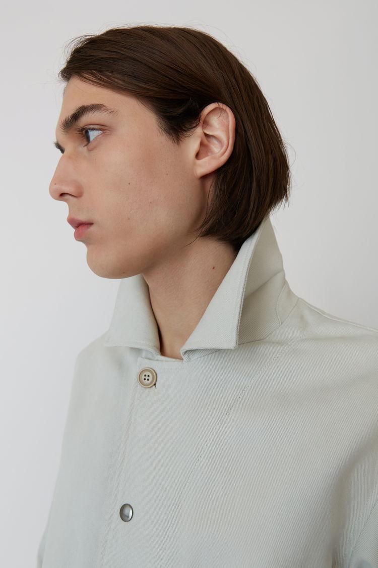 Acne Studios - Cotton jacket Cold white - 7