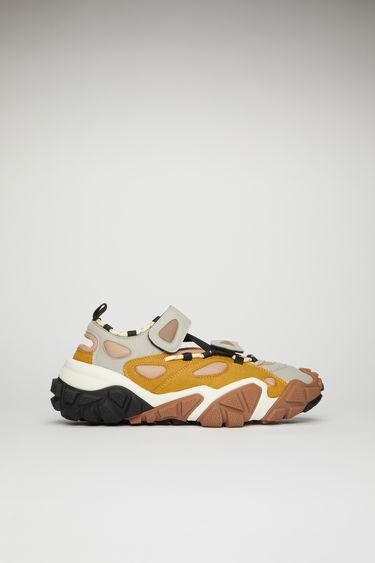 아크네 스튜디오 Acne Studios Bolzter Bryz M sneakers grey/yellow