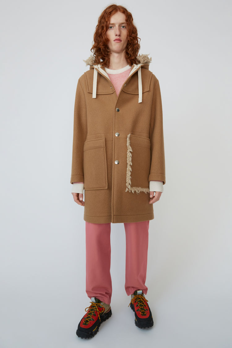 아크네 스튜디오 Acne Studios Oversized wool coat camel brown,Camel brown