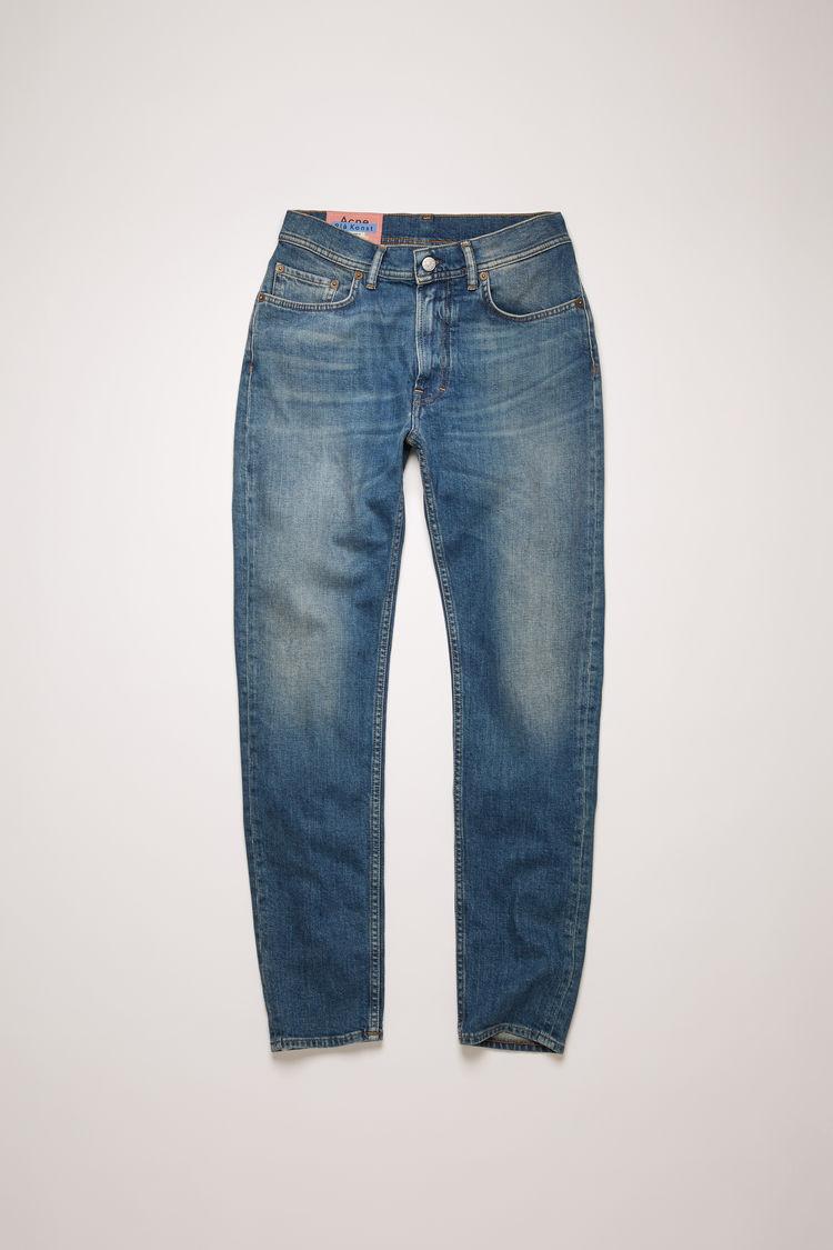아크네 스튜디오 Acne Studios Slim tapered fit jeans mid blue