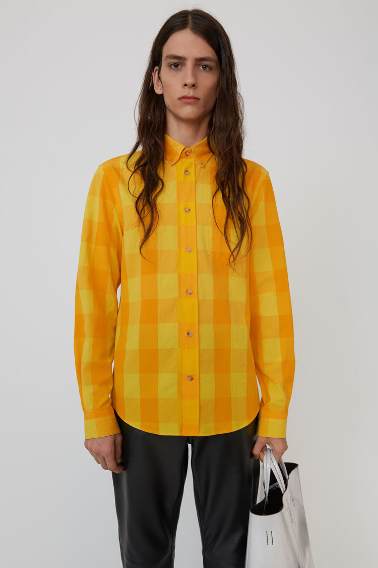 Acne Studios - Isherwood Rustic Ch Yellow/orange - 1