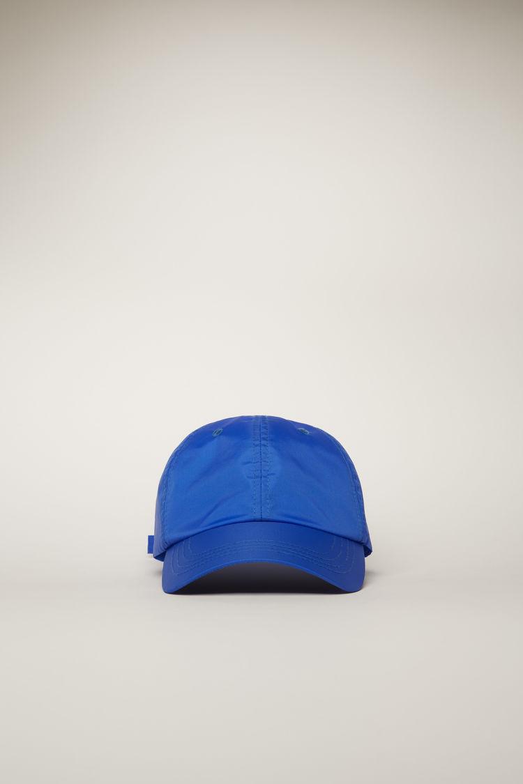아크네 스튜디오 Acne Studios Face-patch cap electric blue