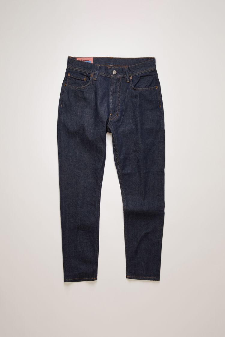아크네 스튜디오 Acne Studios Slim tapered fit jeans indigo blue
