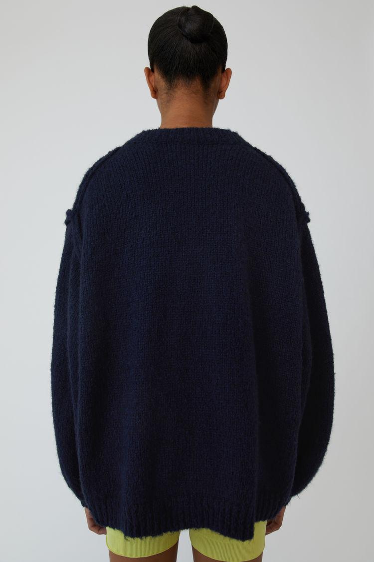 Acne Studios - Oversized sweater Navy blue - 3