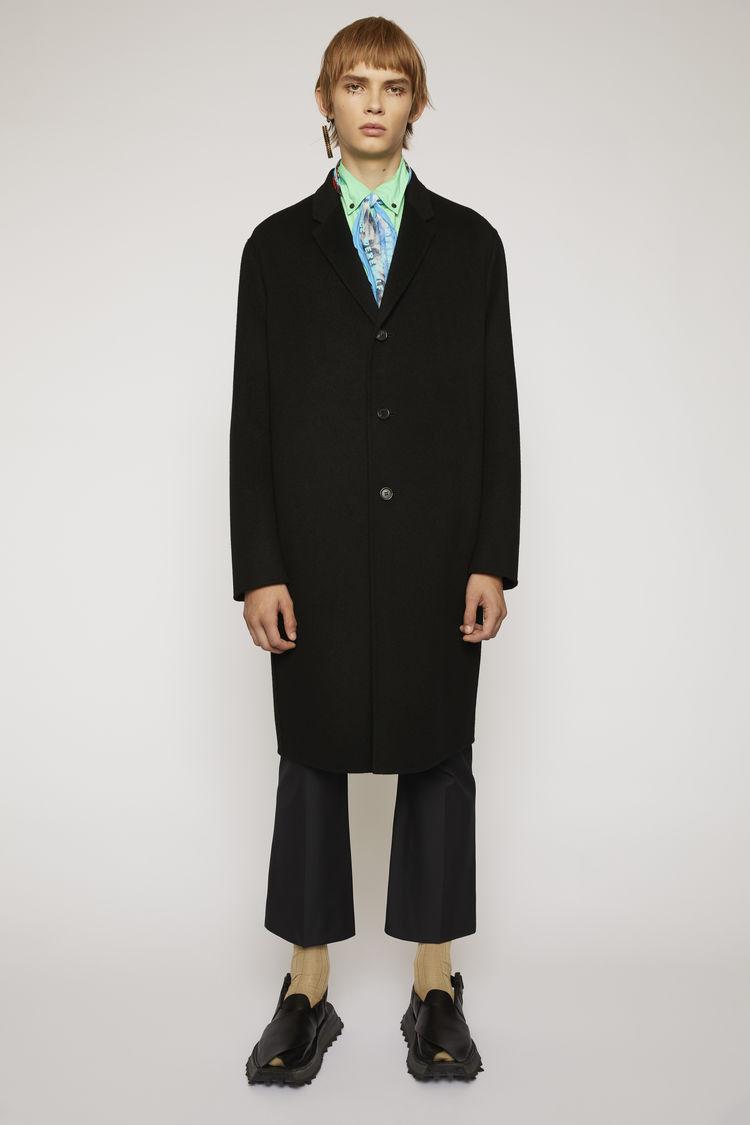아크네 스튜디오 Acne Studios Oversized coat black,Black