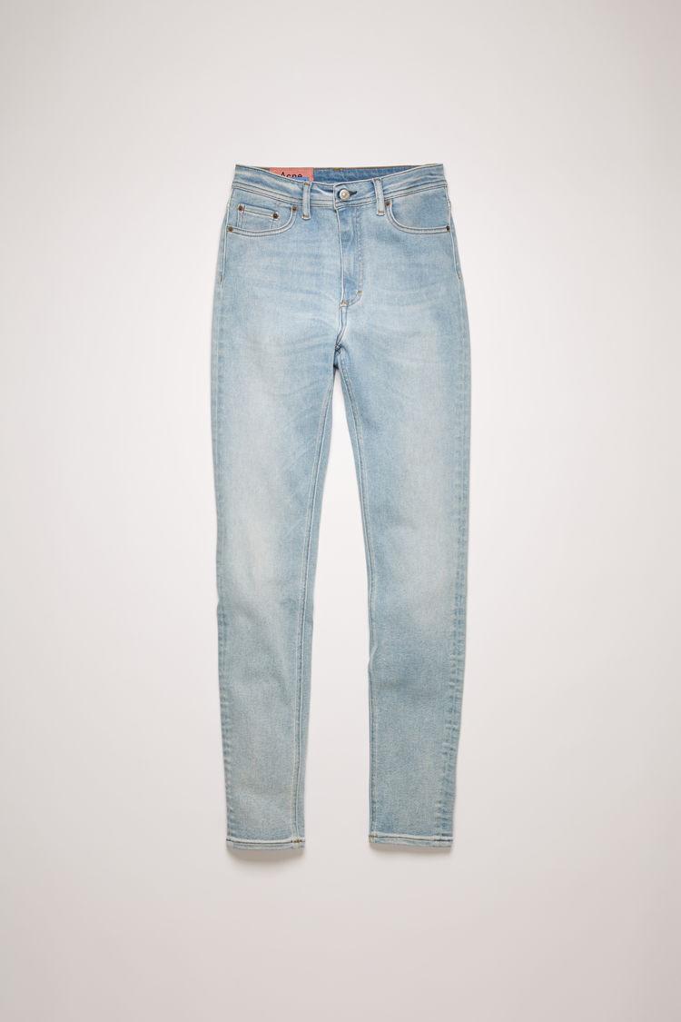 아크네 스튜디오 Acne Studios High-rise skinny jeans light blue