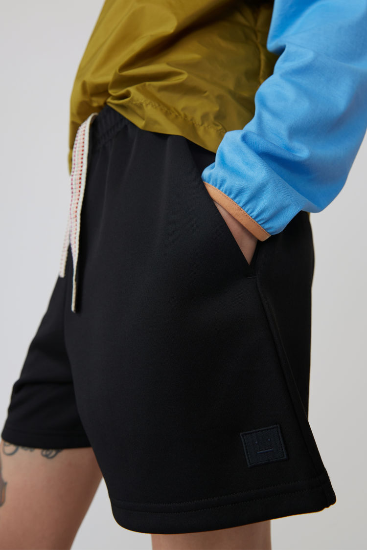 Acne Studios - Shorts in lockerer Passform Schwarz - 5