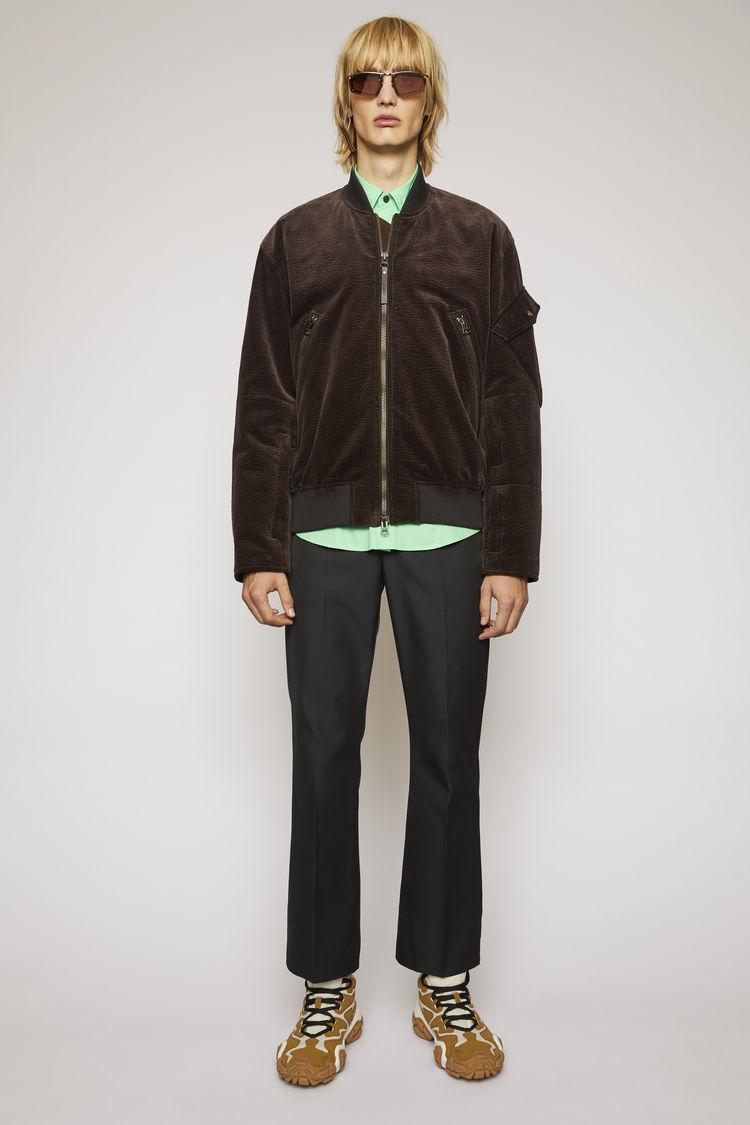 아크네 스튜디오 Acne Studios Corduroy bomber jacket coffee brown