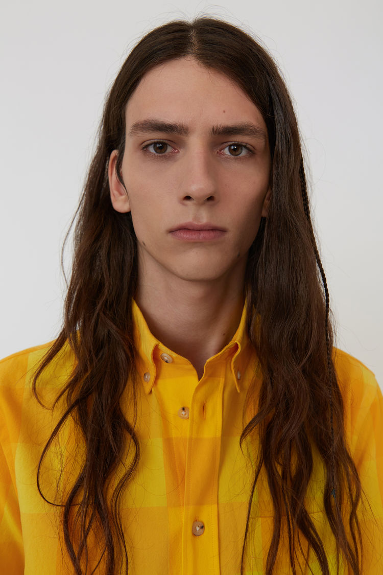 Acne Studios - Isherwood Rustic Ch Yellow/orange - 2