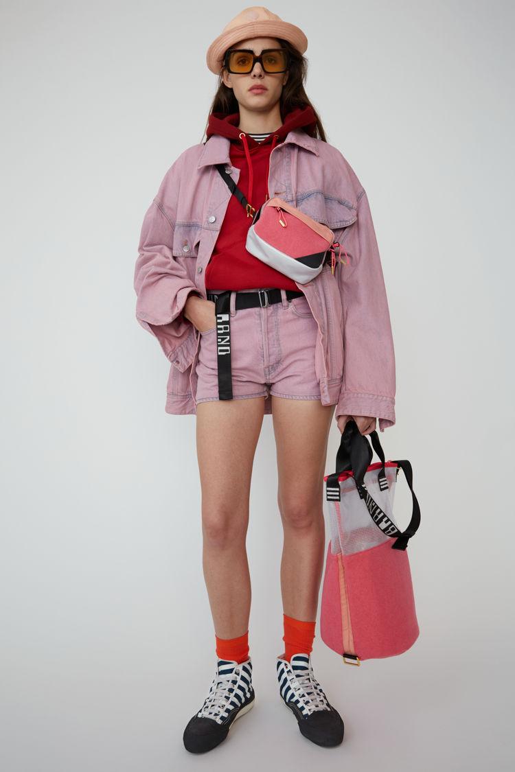 아크네 스튜디오 Acne Studios Denim shorts blue/pink
