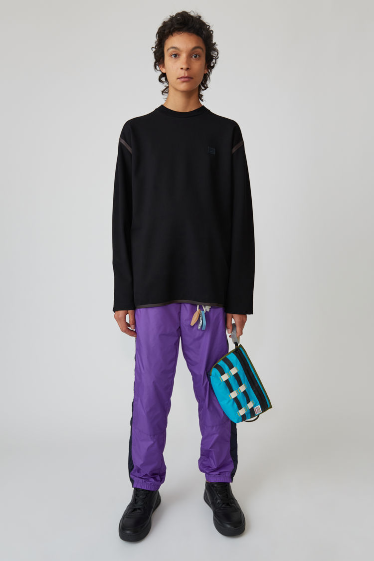 Acne Studios - Crewneck sweater Black - 1