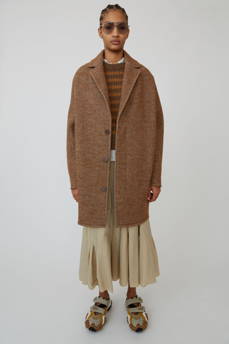 Acne Studios - Cocoon jacket Camel brown - 1
