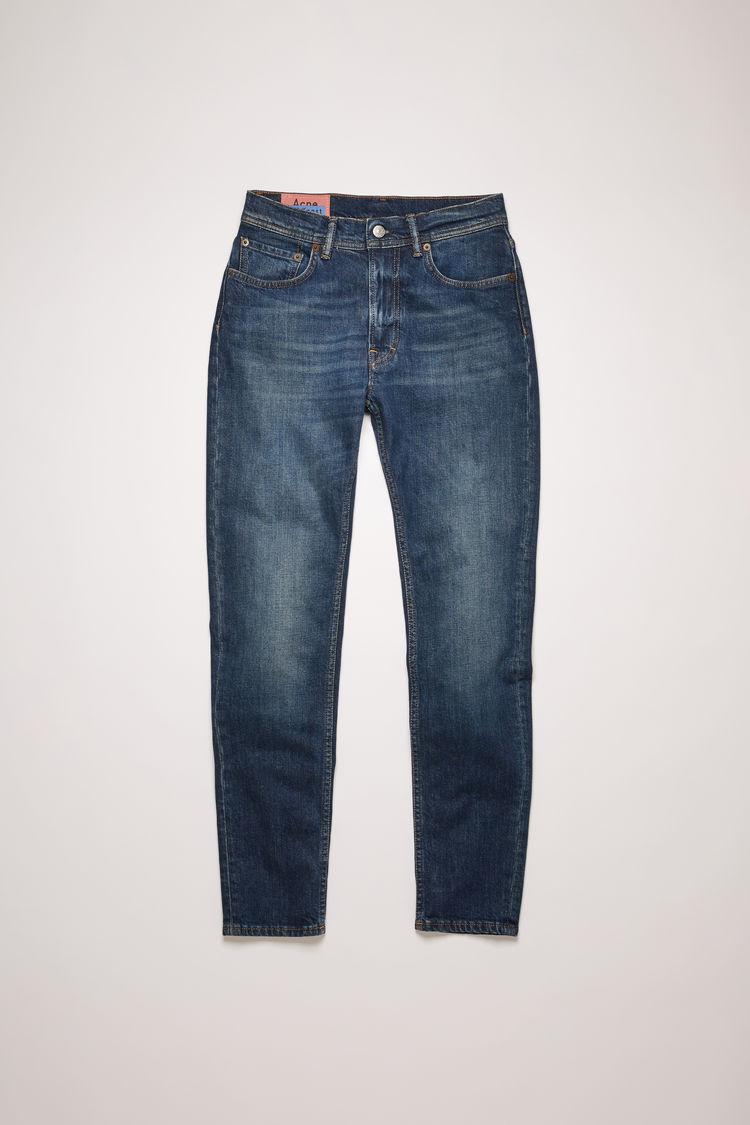 아크네 스튜디오 Acne Studios Slim tapered fit jeans dark blue
