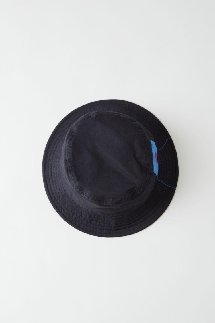 아크네 스튜디오 Acne Studios Bucket hat navy blue