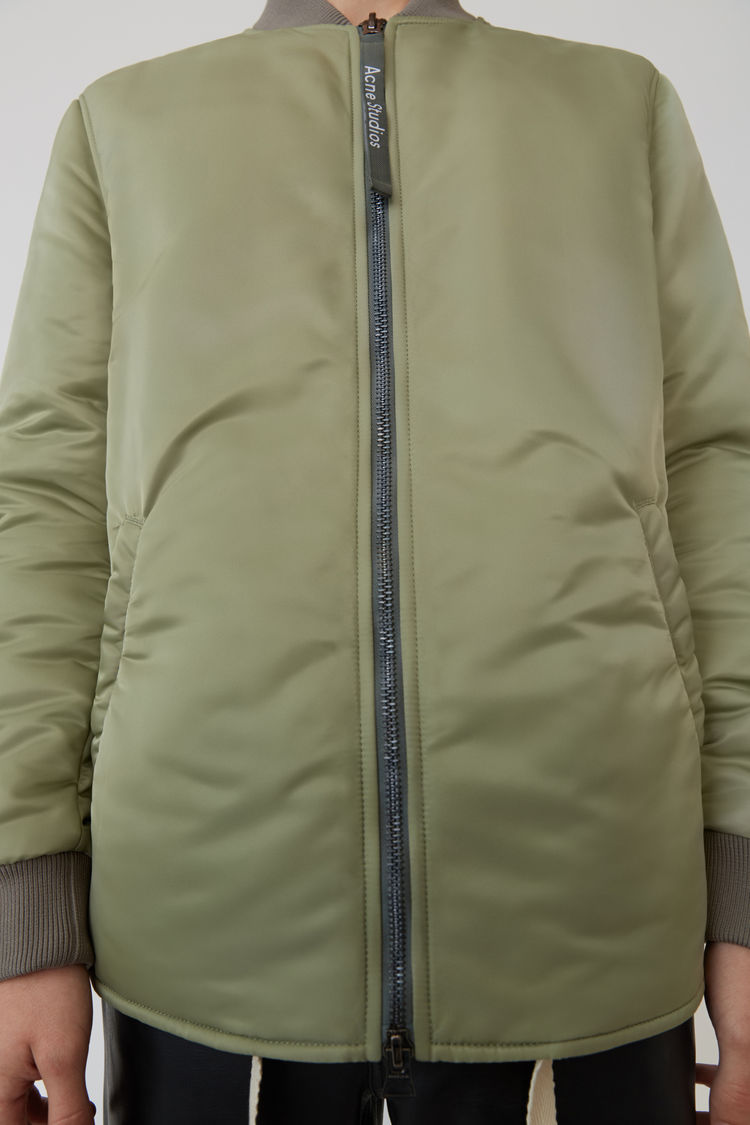 Acne Studios - Bomber jacket Stone grey - 5
