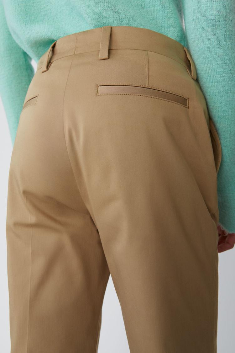 Acne Studios - Clean trousers Sand beige - 5