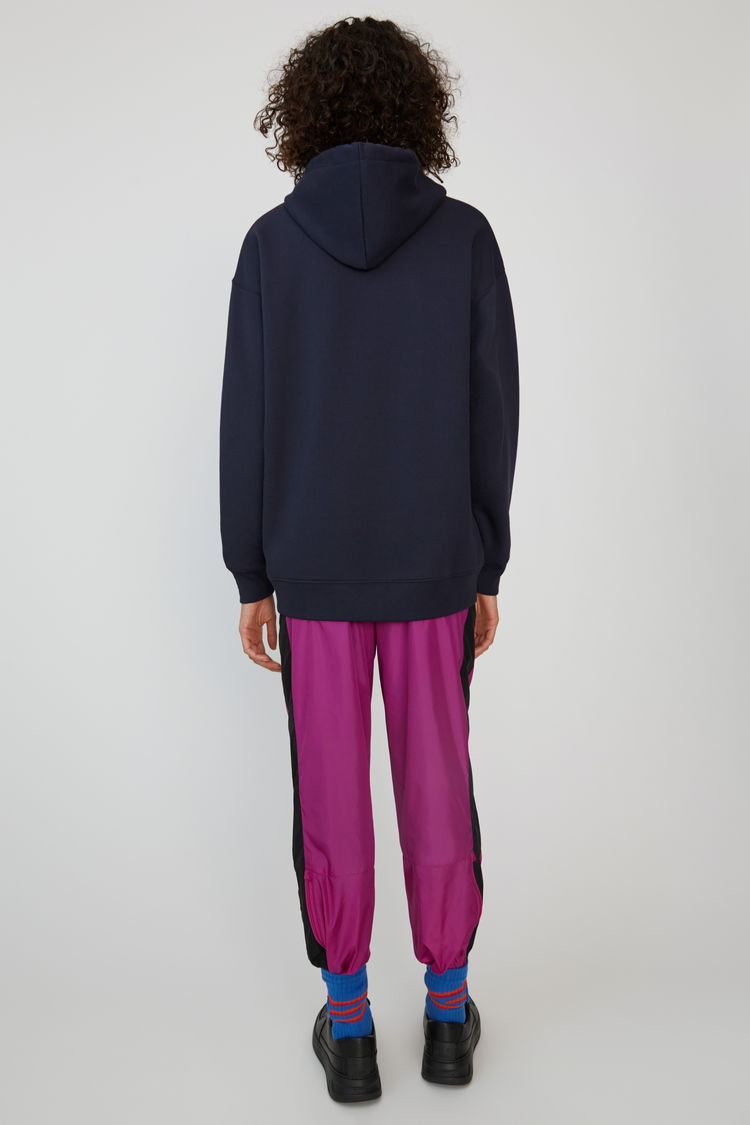 Acne Studios - Oversized sweatshirt Navy blue - 3