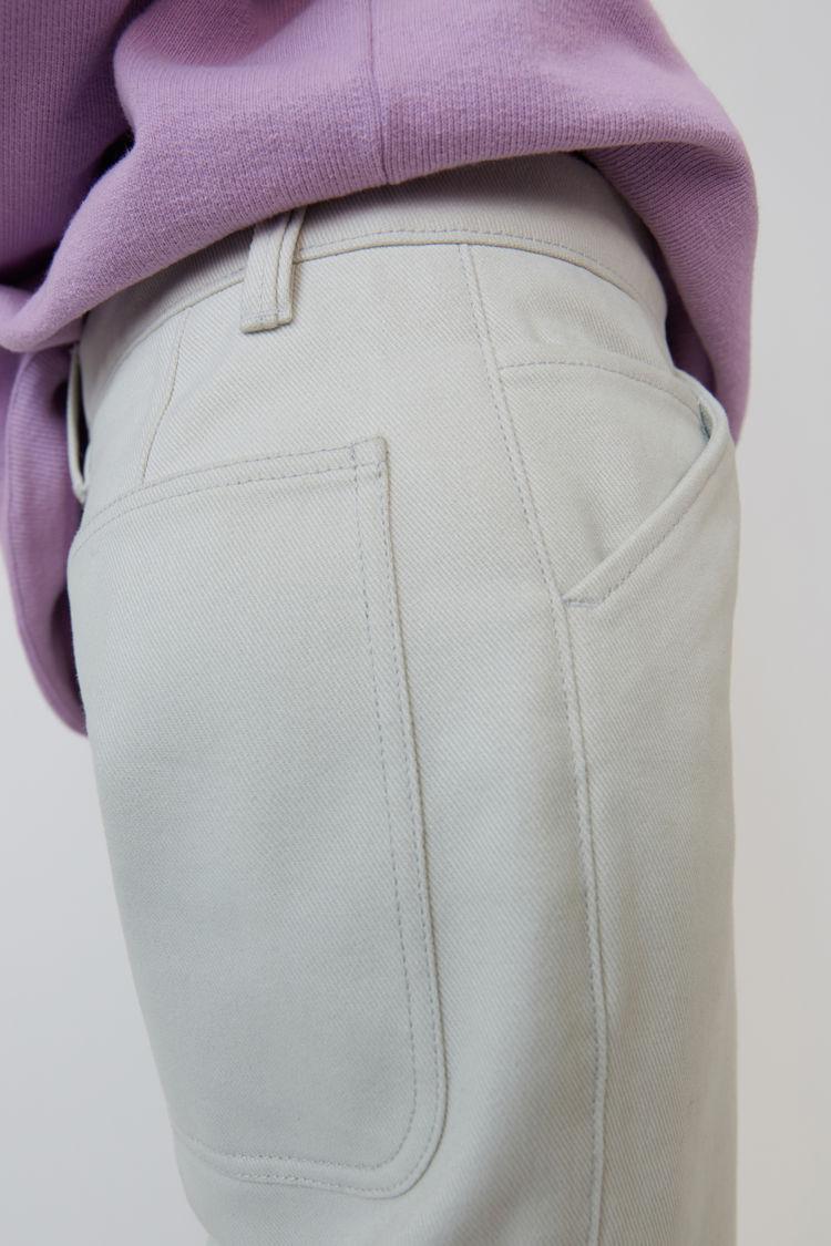 Acne Studios - 5-Pocket-Jeans Kaltweiß - 5