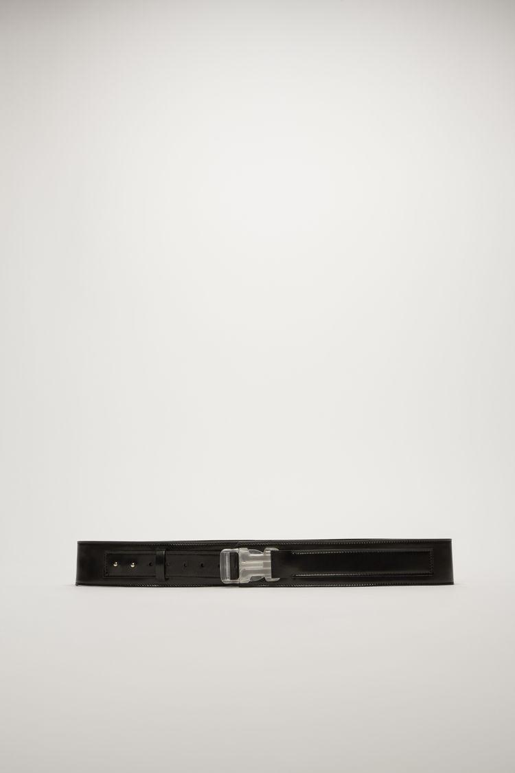아크네 스튜디오 Acne Studios Leather belt black