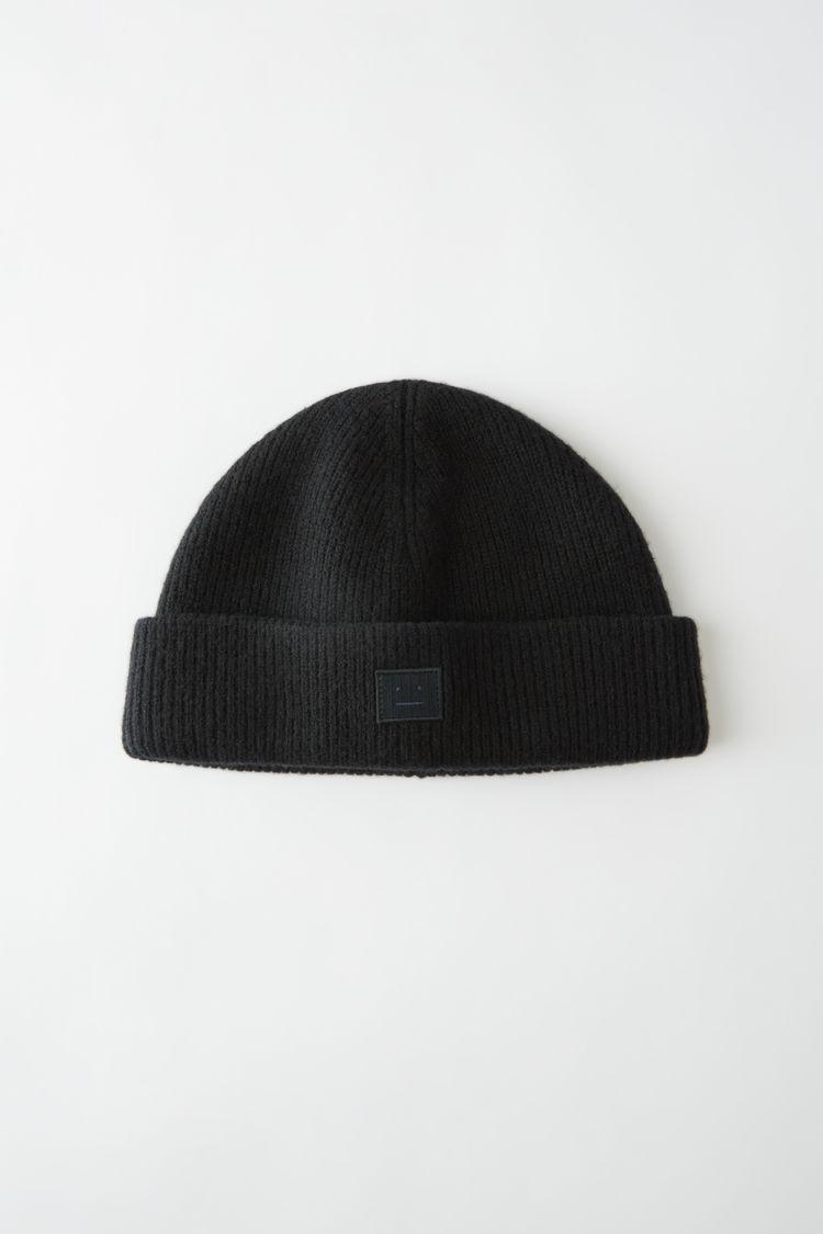 아크네 스튜디오 Acne Studios Wool beanie black