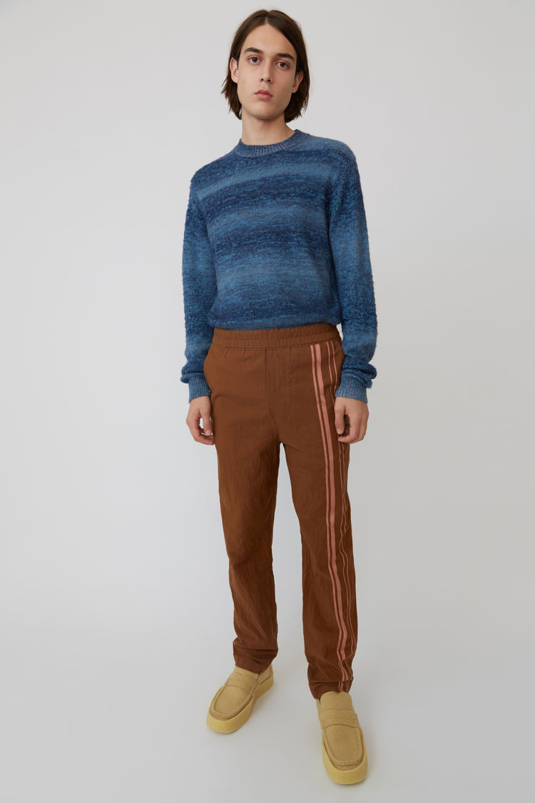 Acne Studios - Sporty trousers Brown/Ginger Orange - 1