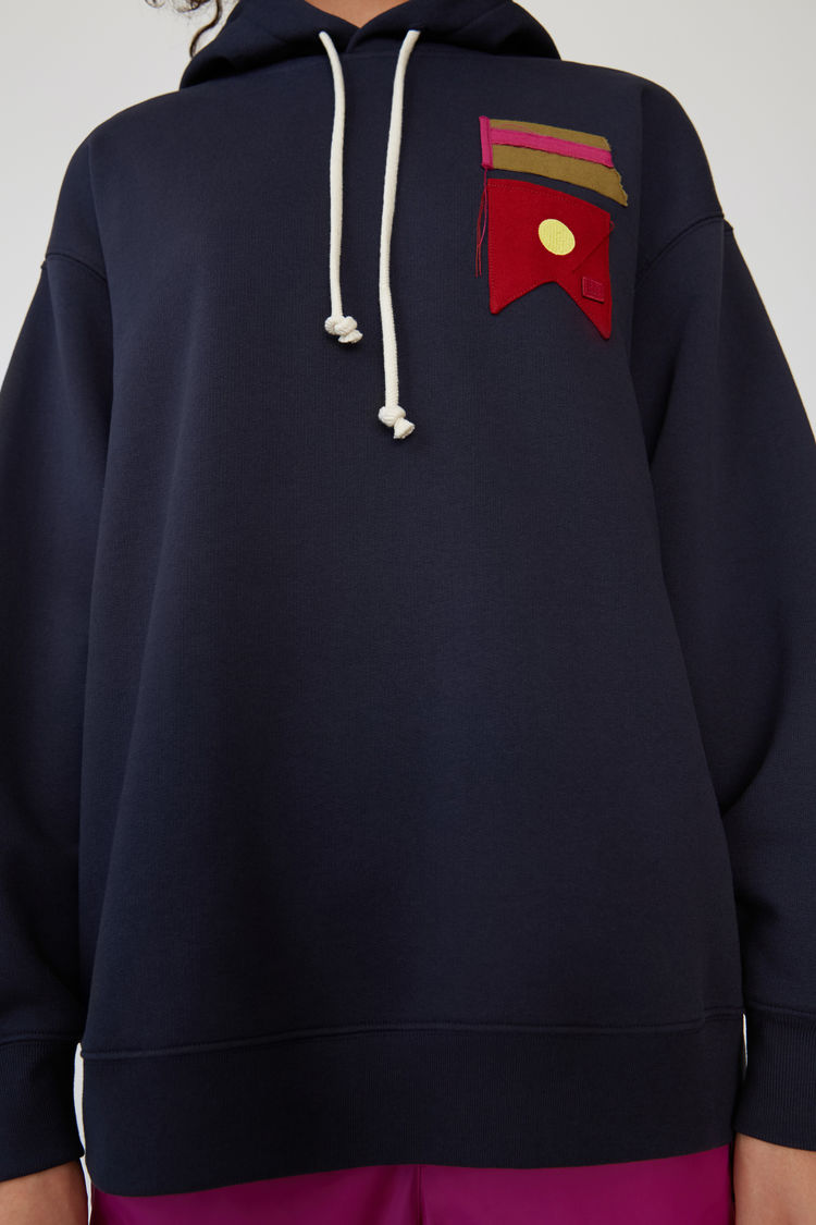 Acne Studios - Oversized sweatshirt Navy blue - 5