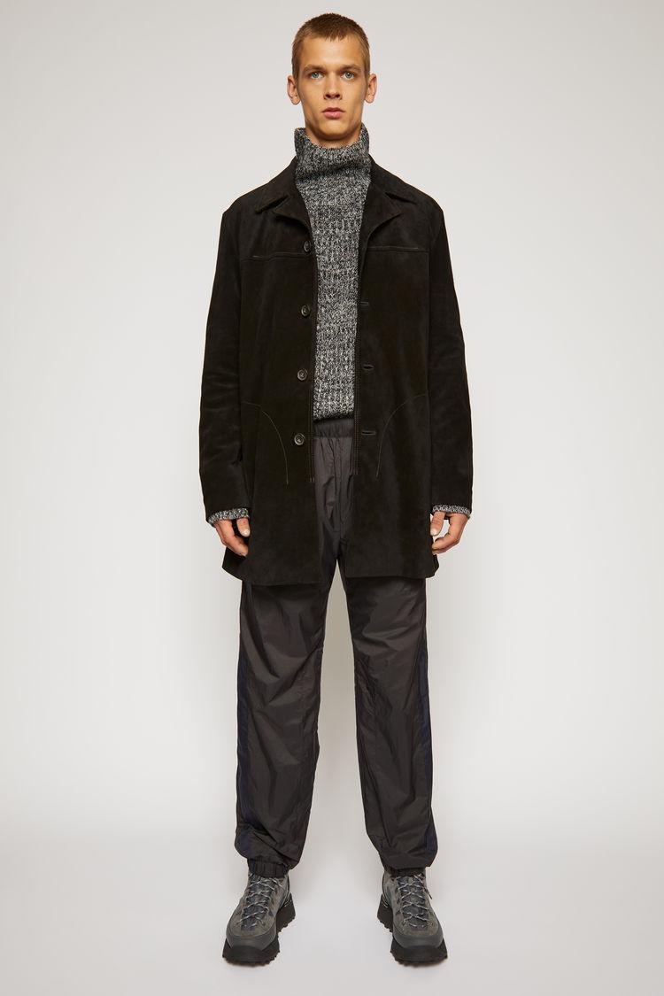 아크네 스튜디오 Acne Studios Suede shirt jacket black