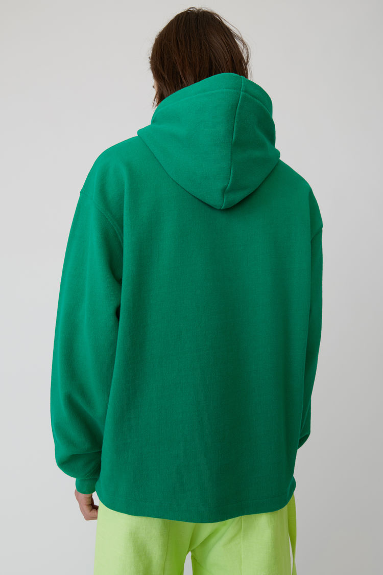 Acne Studios - Kapuzen-Sweatshirt Smaragdgrün - 3