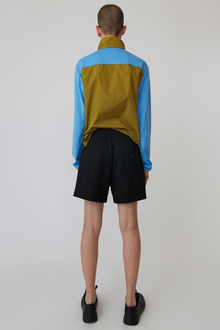 Acne Studios - Shorts in lockerer Passform Schwarz - 3