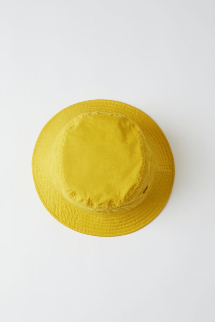 아크네 스튜디오 Acne Studios Bucket hat amber yellow