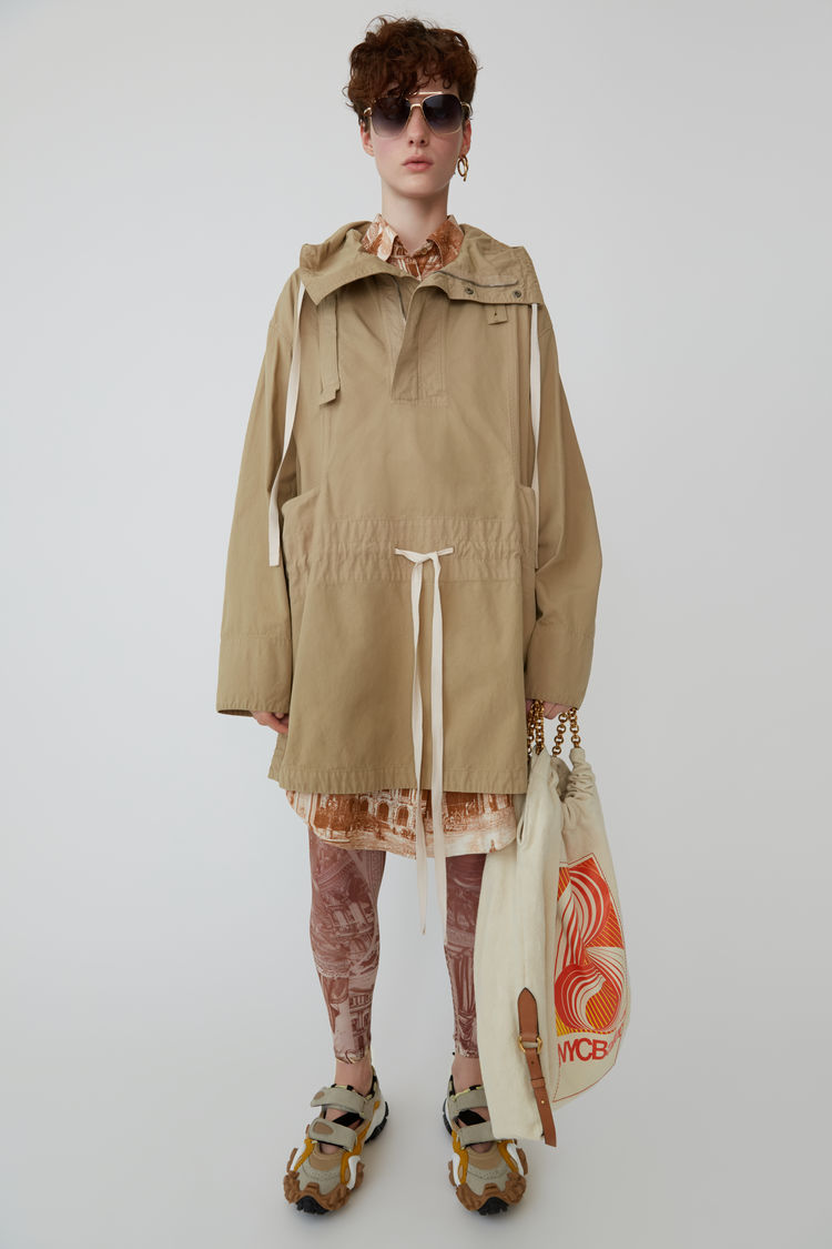 아크네 스튜디오 아노락 자켓 Acne Studios Anorak jacket sand beige