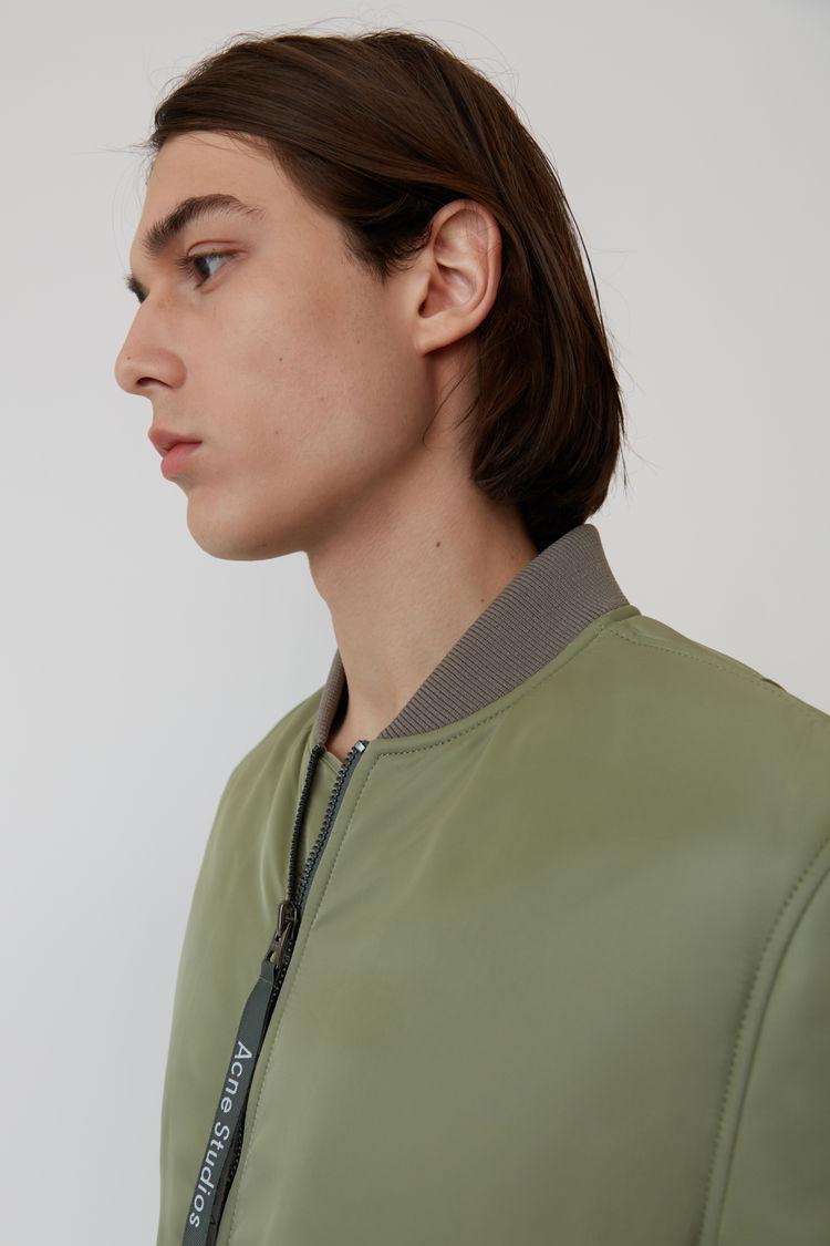 Acne Studios - Bomber jacket Stone grey - 7