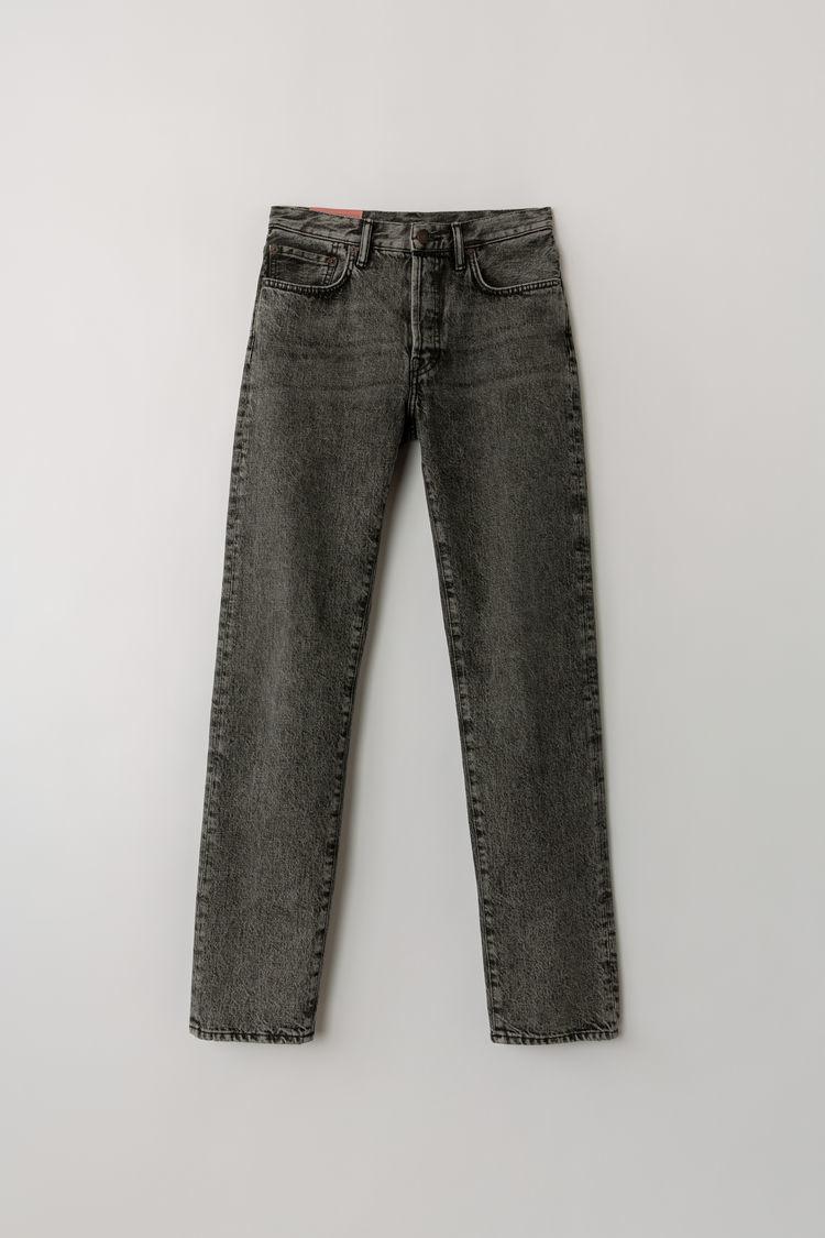 아크네 스튜디오 Acne Studios Classic fit jeans washed black