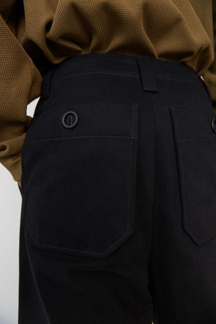 Acne Studios - Cotton trousers Black - 5