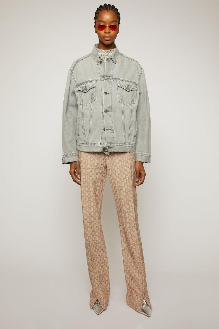 아크네 스튜디오 Acne Studios Relaxed-fit denim jacket stone grey
