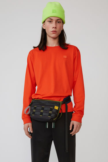 아크네 스튜디오 Acne Studios Long sleeve crew neck paprika red